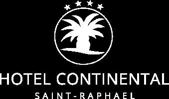 Logo blanc Hôtel Continental